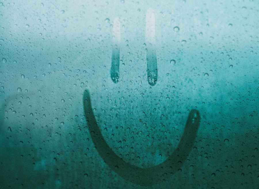 photo of a smiley face